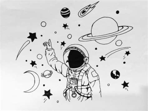imagenes del universo en blanco y negro estrellas y planetas tumblr