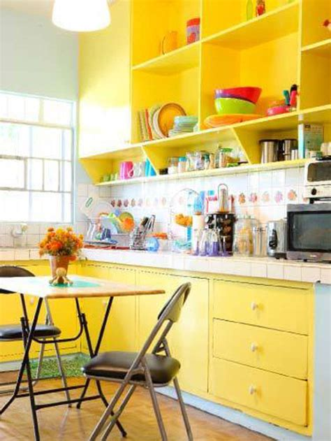 Colorful Kitchen Cabinets Cabinet Paint Colors 7 Colorful Choices For The Kitchen