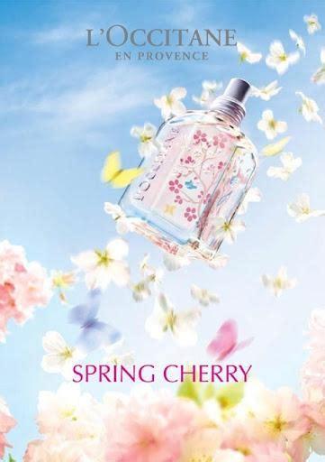l occitane l occitane cherry collection paperblog