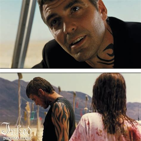 george clooney from dusk till dawn tattoo pin by inked magazine on tattoos