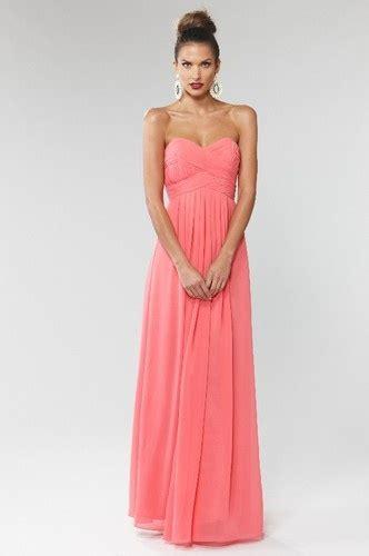 Monalisa Maxi langhem mona evening dress coral maxi dress evening dress strapless new wedding dresses