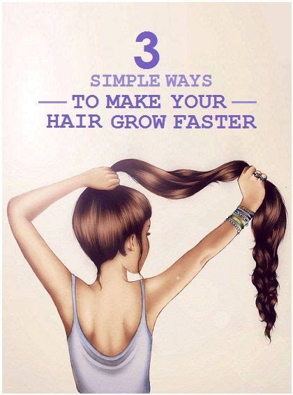 how to make your hair grow faster than ever 1 inch in a week best 25 make hair grow faster ideas on pinterest hair