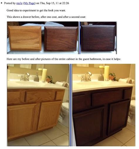 how to restain oak kitchen cabinets 17 best ideas about updating oak cabinets on pinterest