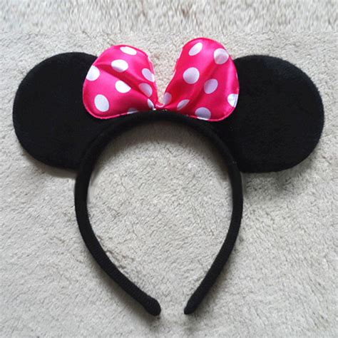 Mickey Minnie Bow by 1x Fancy Minnie Mouse Bow Mickey Mouse Ears Headband Ears