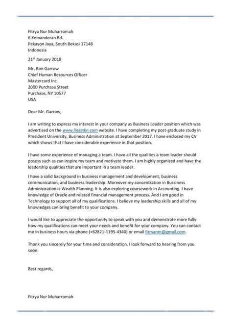 Contoh Application Letter Guru Dan Artinya 5 Surat Lamaran Pekerjaan Dalam Bahasa Inggris Contoh