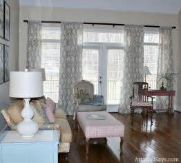 Curtains In Living Room Home Tour Living Room Details Six Months In The Atta Says