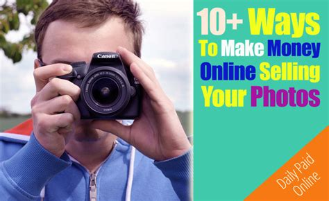 Make Money From Photos Online - daily paid online only the legit ways to make money online