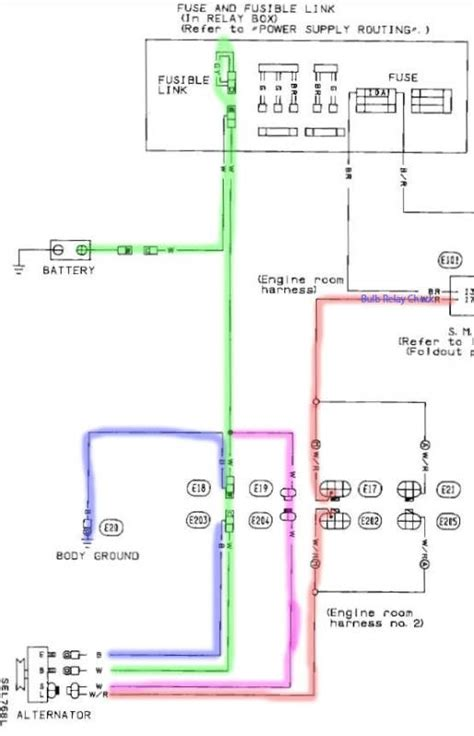 wiring diagram of 240sx ignition 94 240sx fuse box wiring