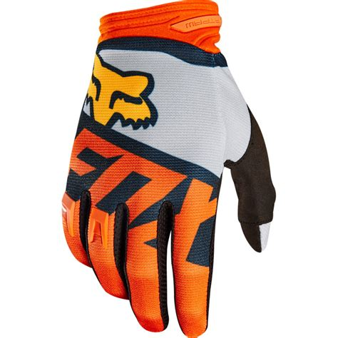 Glove Fox 2018 fox racing dirtpaw sayak gloves orange sixstar racing