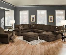 brown sofas in living rooms justyna teak deluxe brown u shaped sectional sofa with