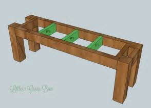 Dining Room Table Bench Plans Woodwork Dining Table And Bench Plans Pdf Plans