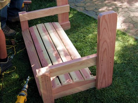 homemade swing seat woodwork swing bench diy pdf plans