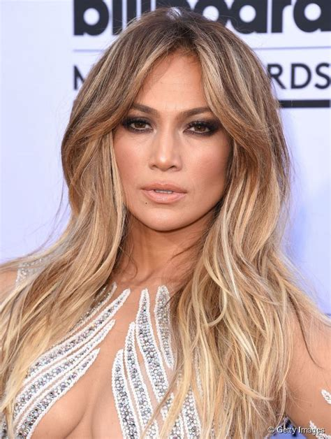 long hairstyle ideas jennifer lopez s voluminous center part