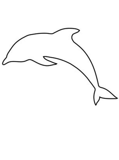 dolphin outline clipartion com
