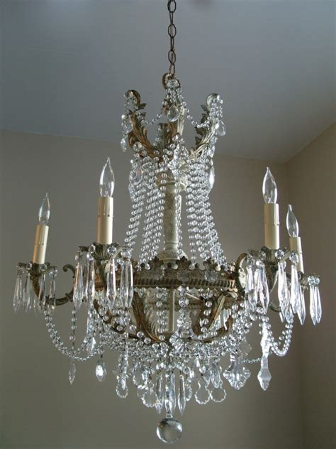 shabby chic empire chandelier marjorie stafford design