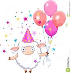 birthday sheep stock image image 8027141