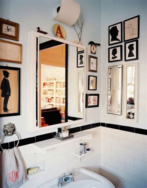 how to spice up your bathroom d 233 cor with framed wall