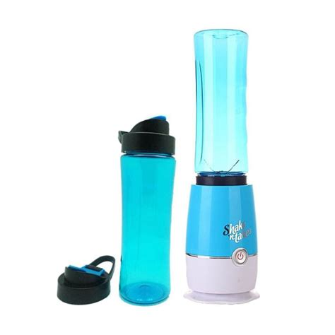 Shake Biru harga shake n take 3rd new with cup biru