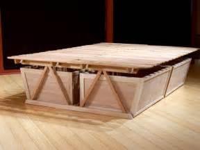 Platform Bed No Storage Diy Platform Storage Bed Modern Storage Bed