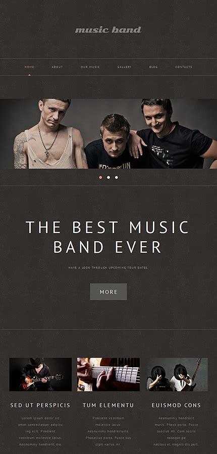 themes wordpress music band music band responsive wordpress theme 48980