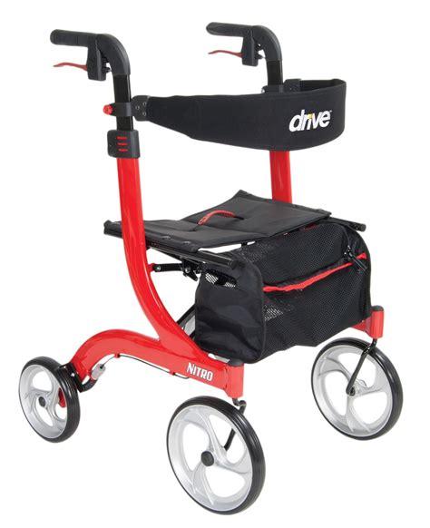 drive nitro rollator nitro euro style rollator walker drive medical