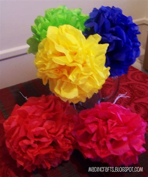 How To Make Mexican Tissue Paper Flowers - mexican paper flowers paper flowers and mexicans on