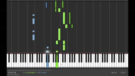 tutorial piano zelda the legend of zelda gerudo valley piano synthesia