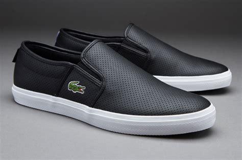 Sepatu Merk Erke sepatu sneakers lacoste gazon sport black