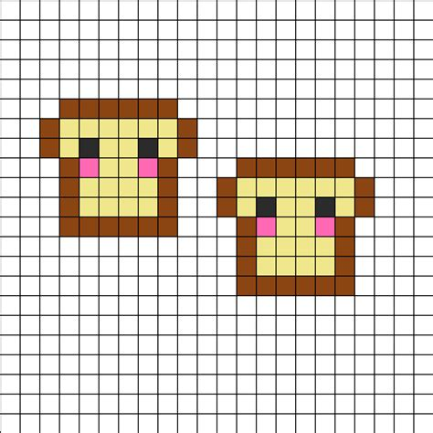 food perler bead patterns perler bead patterns food images