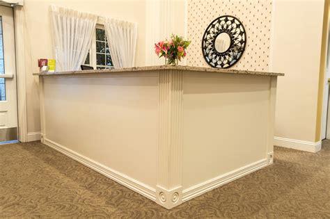 Custom Made Reception Desk By Seaton Frank Wood Studio Llc Custom Made Reception Desks