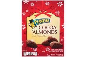 planters cocoa almonds planters cocoa almonds 14 oz box kraft recipes