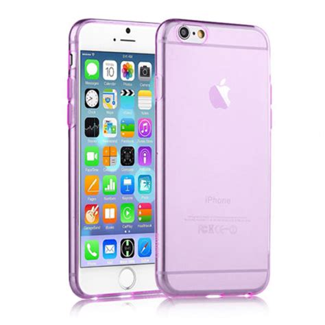 Silikon Ultrathin Anti Jamur Iphone 6 Iphone 6s ultra thin 0 6mm flexicase skal till apple iphone 6 6s