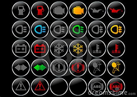 dashboard symbols royalty  stock  image
