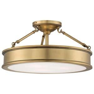Ceiling Mounted Light Point M4177249 Harbour Point Semi Flush Mount Ceiling Light Liberty Gold At Shop Ferguson