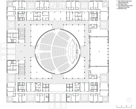 radio city music hall floor plan vietnamese national assembly in hanoi gmp architekten