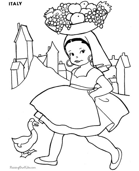 around the world coloring pages az coloring pages