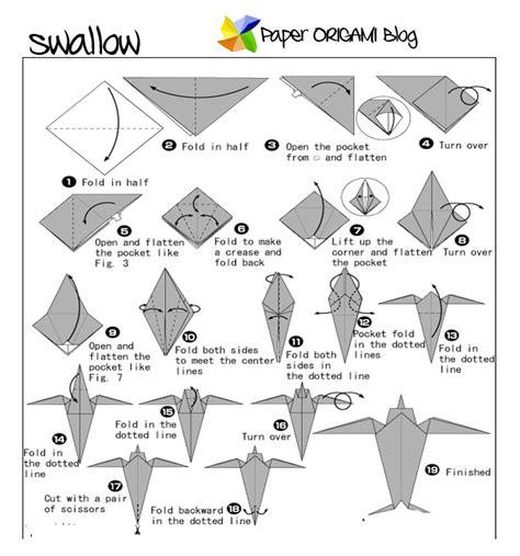 origami squirrel diagram june 2013 paper origami folding diagram