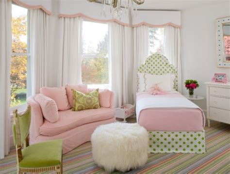 green and pink bedroom combine pink and green in the rooms ideas for interior
