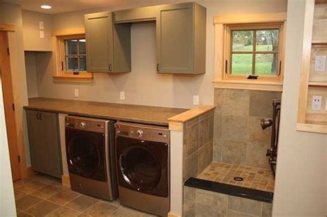 when can i shower my puppy my laundry room with bath just needs a bit more tile remodel laundry