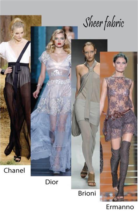 Summer 08 Trends Sheer Fabrics by Trends Of Summer 2010 Gp02