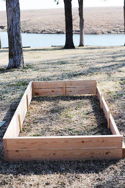 build   raised flowervegetable bed pioneer woman
