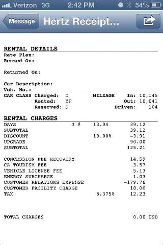 car rental receipt template hertz you driven a stolen rental car travel codex
