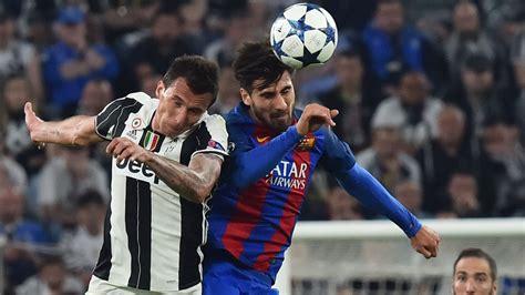 barcelona juventus dybala scores double as juve stun barcelona sport the