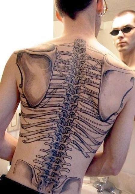 chest x ray tattoo 13 creepiest anatomical tattoos strange tattoos oddee