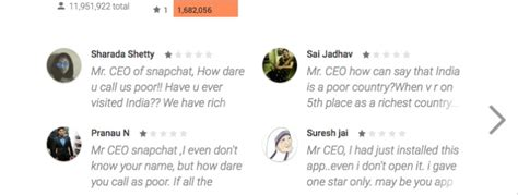 Play Store Snapchat Snapchat S App Rating Takes A Hit On Play Store