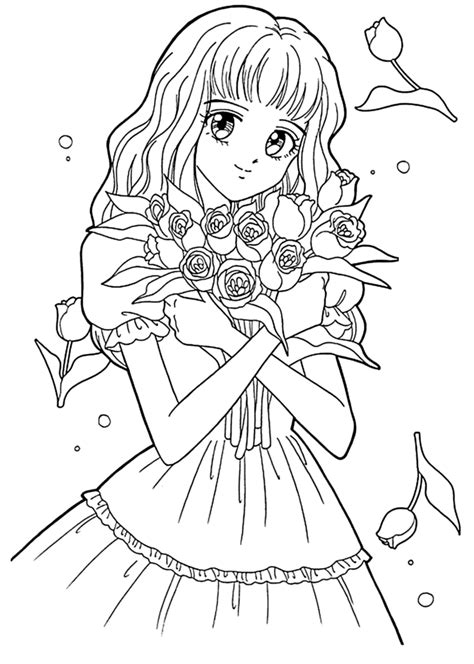 anime coloring coloring pages color anime coloring pages to print on