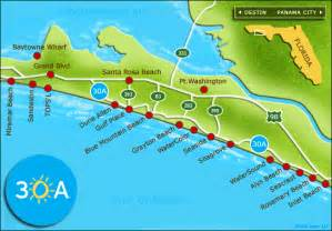 map of emerald coast florida not just a pretty 30a where i ll be this weekend