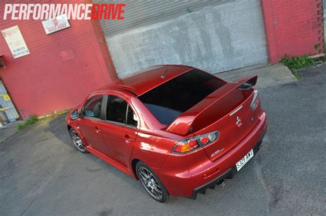 evo 10 spoiler 2014 mitsubishi lancer evolution x mr review video