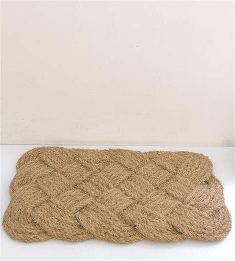 rope door mat traditional doormats by brook farm
