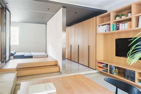 Tiny Appartment by Tiny Apartment With Functional Design That Feels Open Yet